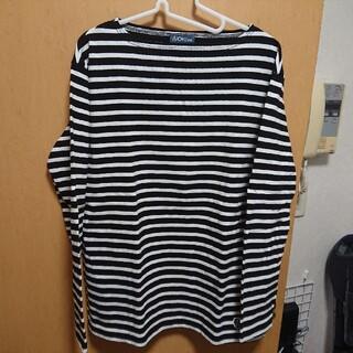 ビューティアンドユースユナイテッドアローズ(BEAUTY&YOUTH UNITED ARROWS)のユナイテッドアローズ ボーダー ロングTシャツ XL(Tシャツ/カットソー(七分/長袖))