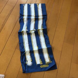 トラサルディ(Trussardi)のトラサルディ 細ロングスカーフ(バンダナ/スカーフ)