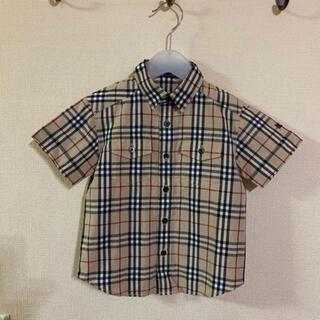 バーバリー(BURBERRY)の【美品】 バーバリー 半袖 シャツ 100(ブラウス)