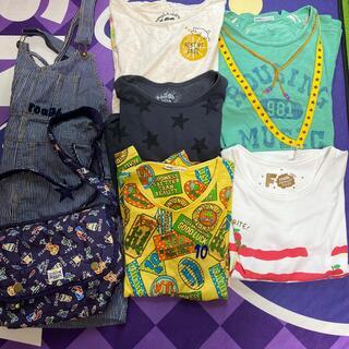 ラフ(rough)のrough Tシャツ、サロペットスカート、バッグ(Tシャツ(半袖/袖なし))
