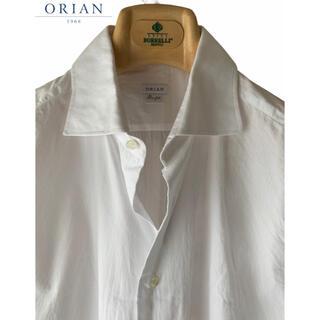 オリアン(ORIAN)のORIAN/オリアン/ホリゾンタルカラー/長袖シャツ/イタリア製(シャツ)