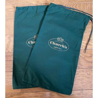 Church's - Church's チャーチ 保存袋 布袋 付属品 袋