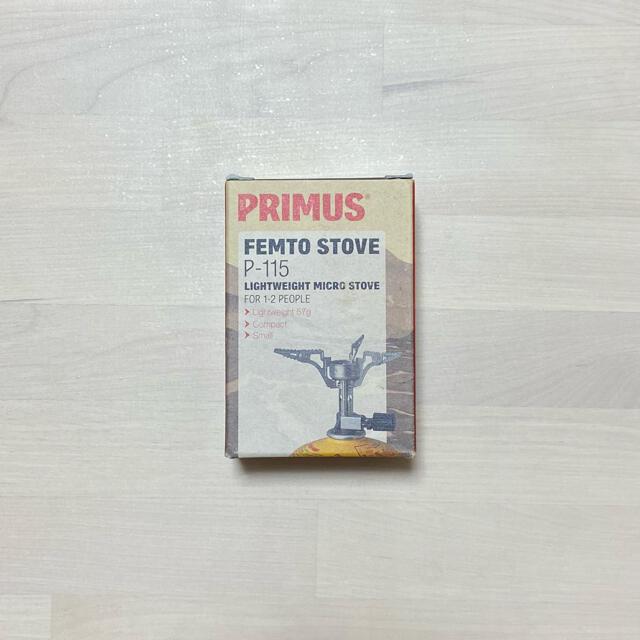 Iwatani(イワタニ)の【新品未使用】プリムス P-115 PRIMUS バーナー シングルバーナー スポーツ/アウトドアのアウトドア(ストーブ/コンロ)の商品写真