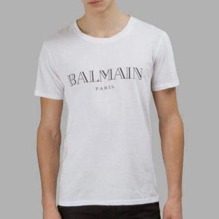 BALMAIN - ⭐ 国内正規 BALMAIN ロゴ Tシャツ 半袖  サイズ  S 中品♪♫