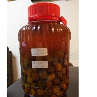 梅の実と梅ジュース(500ml)(フルーツ)