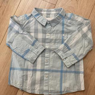 バーバリー(BURBERRY)のバーバリー チェックシャツ(シャツ/カットソー)