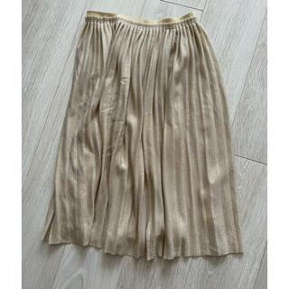 ザラキッズ(ZARA KIDS)の【最終お値下げ】ZARA girlsラメスカート(スカート)