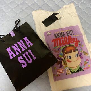 アナスイ(ANNA SUI)のANNA SUI ペコちゃんコラボTシャツ♡新品タグ付き(Tシャツ(半袖/袖なし))