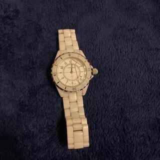 シャネル(CHANEL)のCHANEL シャネル j12 部品取り ジャンク品 セラミック 腕時計 (腕時計(アナログ))