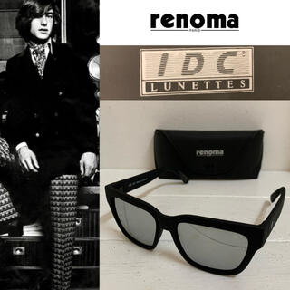 レノマ(RENOMA)のrenoma PARIS×IDC FRANCE製 ウェリントンサングラス ミラー(サングラス/メガネ)