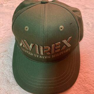 アヴィレックス(AVIREX)の帽子 緑 AVIREX キャンプ ゴルフ(キャップ)