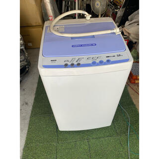 SANYO - 洗濯機 5kg SANYO ASW-CA50(W) 2005年製中古品 三洋電機