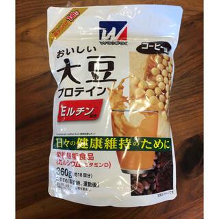 モリナガセイカ(森永製菓)のウイダー 大豆 プロテイン コーヒー味(プロテイン)
