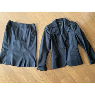 インディヴィ(INDIVI)の美品 INDIVI スーツ インディヴィ セットアップ (スーツ)