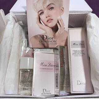ディオール(Dior)のDior ミスディオールハンドクリームギフトセット(ハンドクリーム)