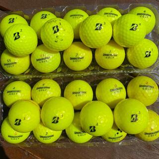 ブリヂストン BRIDGESTONE 黄色 ゴルフボール GOLF 28個
