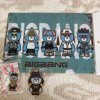 ビッグバン(BIGBANG)のBIGBANG キーホルダー2個 クリアファイル セット(ミュージシャン)