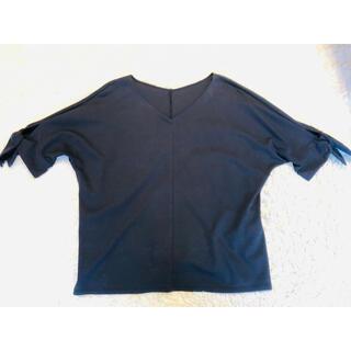 デミルクスビームス(Demi-Luxe BEAMS)のデミルクス ビームス とろみブラウス(シャツ/ブラウス(半袖/袖なし))