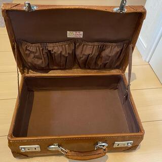 豚皮 アンティークアタッシュケース(スーツケース/キャリーバッグ)