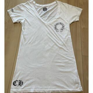 クロムハーツ(Chrome Hearts)のクロムハーツ  Tシャツ ホワイト M 女性用 ウィメンズ(Tシャツ(半袖/袖なし))