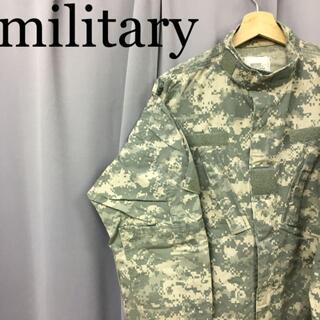 スイスミリタリー(SWISS MILITARY)のmilitary デジタルカモフラージュ パティークジャケット 長袖(ミリタリージャケット)