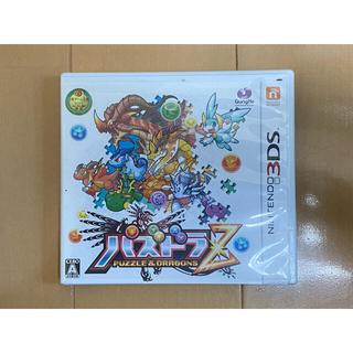 ニンテンドー3DS(ニンテンドー3DS)の【最終値下げ】3DS ソフト パズドラZ(携帯用ゲームソフト)
