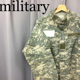 スイスミリタリー(SWISS MILITARY)のmilitary army デジタルカモフラージュ パティークジャケット(ミリタリージャケット)