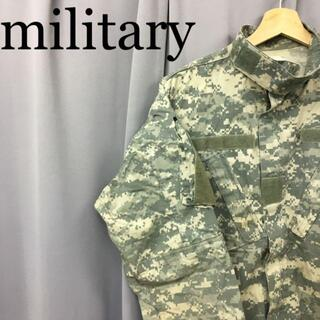 スイスミリタリー(SWISS MILITARY)のmilitary デジタルカモフラージュ パティークジャケット army(ミリタリージャケット)