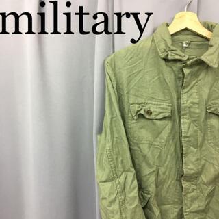 スイスミリタリー(SWISS MILITARY)のmilitary ダブルポケット 長袖シャツ 4ポケット PENICONF(ミリタリージャケット)