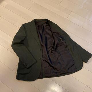 コムサイズム(COMME CA ISM)のコムサ BG  ジャケット グリーン(テーラードジャケット)