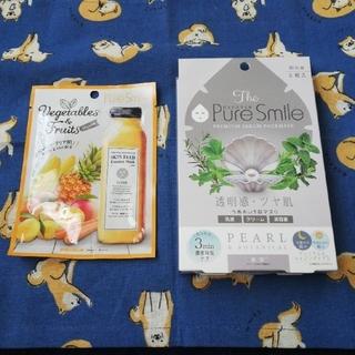 Pure Smile フェイスマスク 5枚+1枚(パック/フェイスマスク)
