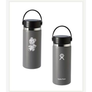 ファミリア(familiar)の【新品未使用】ファミリア ハイドロフラスクステンレスボトル  グレー(水筒)
