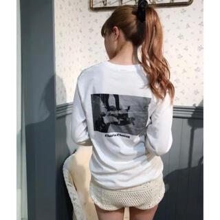 エディットフォールル(EDIT.FOR LULU)のcharles chaton シャルルシャトン Tシャツ(Tシャツ(長袖/七分))
