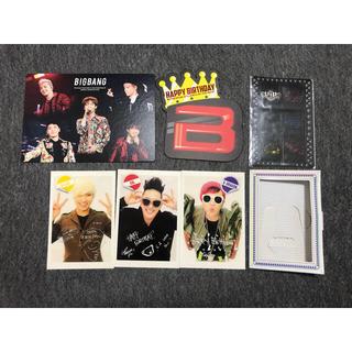 ビッグバン(BIGBANG)のbigbang ファンクラブ限定 バースデーカード(アイドルグッズ)
