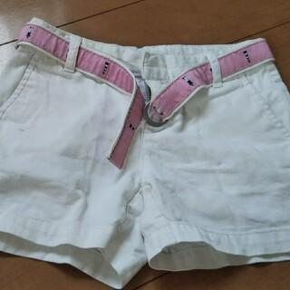 ラルフローレン(Ralph Lauren)のRALPH LAUREN 白ショートパンツ size120(パンツ/スパッツ)