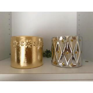 陶器植木鉢 2個セット(プランター)