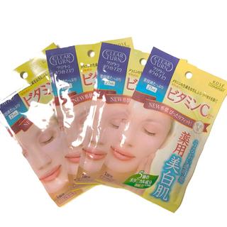 コーセーコスメポート(KOSE COSMEPORT)のクリアターンホワイトマスク ビタミンC(パック/フェイスマスク)