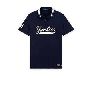 ポロラルフローレン(POLO RALPH LAUREN)の【M】Ralph Lauren Yankees ポロシャツ ラルフローレン(ポロシャツ)