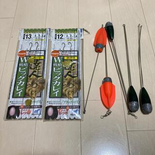 投げ釣り仕掛けと天秤(釣り糸/ライン)