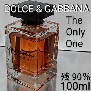 ドルチェアンドガッバーナ(DOLCE&GABBANA)の【残量90%】ドルガバ ザ・ワン ザ・オンリーワン オードパルファム 100ml(香水(男性用))