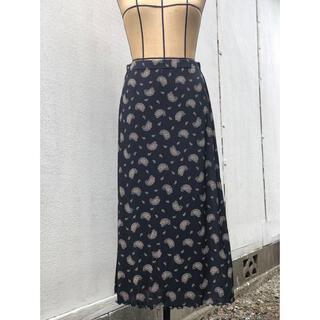 グリモワール(Grimoire)のUka ♡ ペイズリー柄 ロングスカート 古着 ヴィンテージ vintage(ロングスカート)