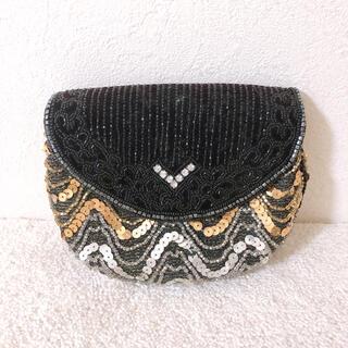 アメリヴィンテージ(Ameri VINTAGE)の結婚式 バッグ ハンドバッグ スパンコール 古着  used(ショルダーバッグ)