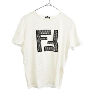 フェンディ(FENDI)のFENDI フェンディ 半袖Tシャツ(Tシャツ/カットソー(半袖/袖なし))