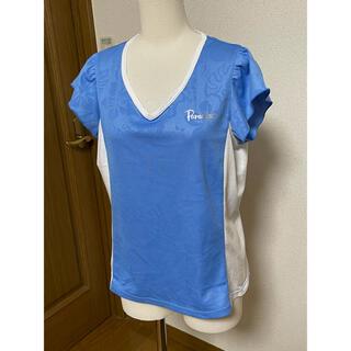 パラディーゾ PARADISO テニスウェア 半袖ゲームシャツ JCL06A