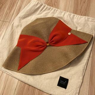 終末sale アシーナニューヨーク リサコ オレンジ(麦わら帽子/ストローハット)