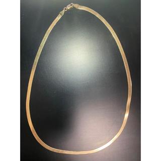 アヴァランチ(AVALANCHE)のavalanche アヴァランチ スネークネックレス K10 k18 YG(ネックレス)