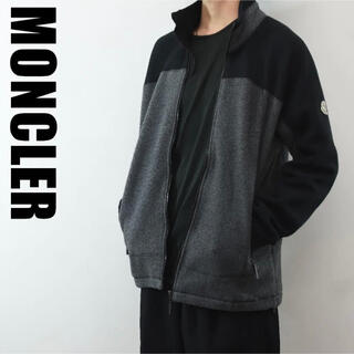 モンクレール(MONCLER)のOG0012 90s OLD MONCLER フリースジャケット 黒(ブルゾン)