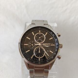 ワイアード(WIRED)のセイコーSEIKOワイアードクロノグラフ腕時計ステンレスタキメーター(腕時計(アナログ))