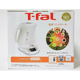 T-fal - ティファール T-fal 電気ケトル ジャスティンプラスコントロール ホワイト