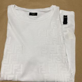フェンディ(FENDI)のFENDI 白の半袖Tシャツとワイシャツ 2枚(Tシャツ/カットソー(半袖/袖なし))